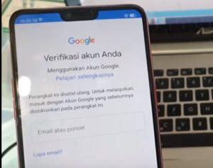 cara reset akun google oppo f7