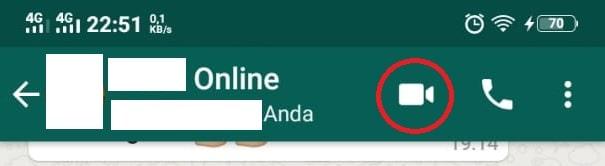 cara video call di grup whatsapp