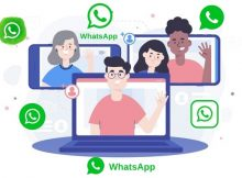 cara video call whatsapp di laptop