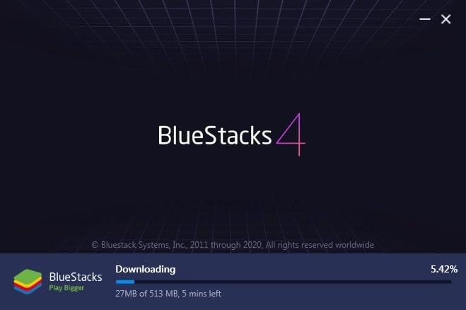 cara install bluestacks4