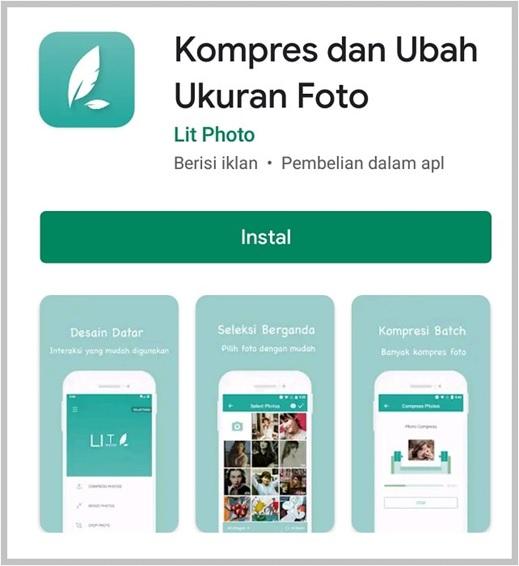 aplikasi android kompres dan ubah ukuran foto