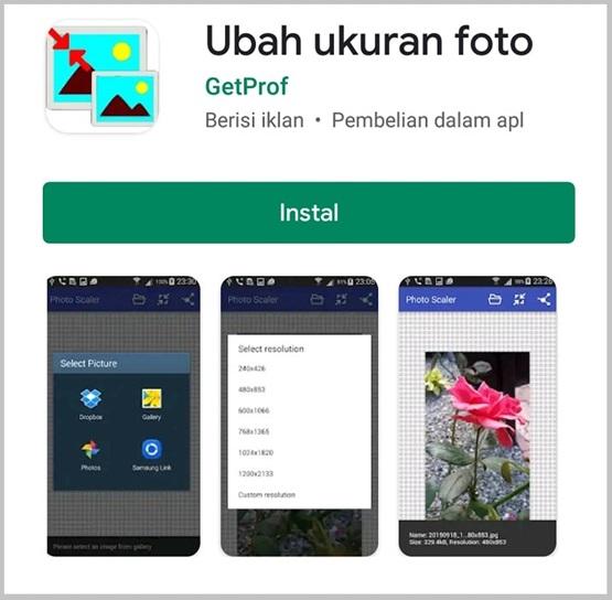 aplikasi ubah ukuran foto android