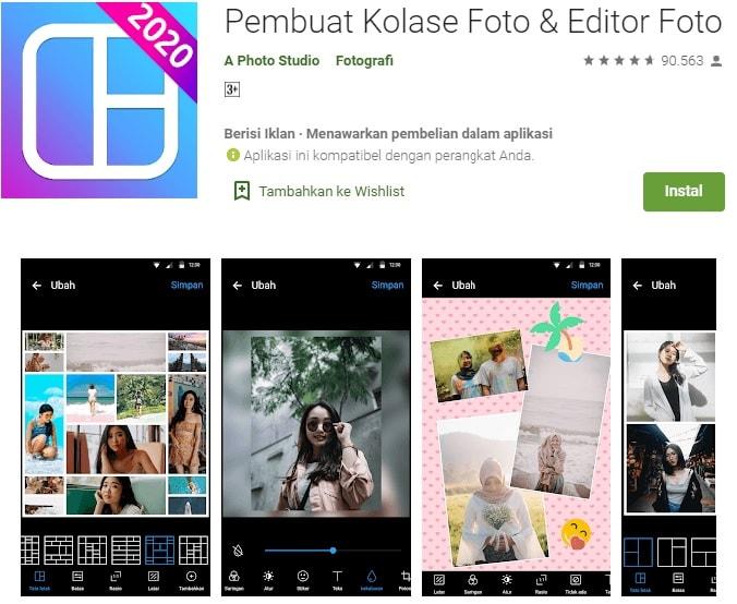 aplikasi kolase foto