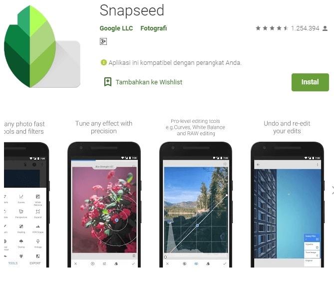 aplikasi snapseed