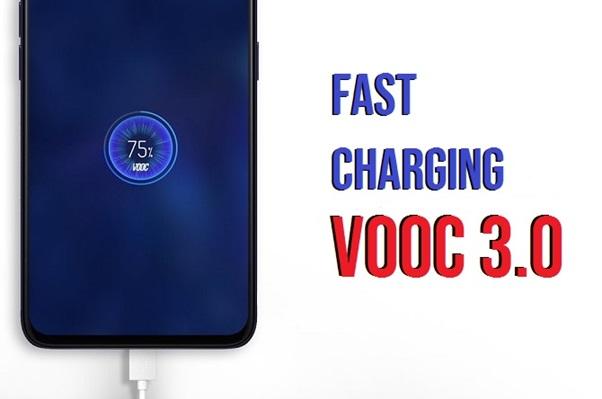 fast charging vooc 3.0 hp oppo reno3
