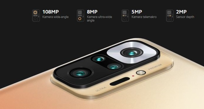 Kamera redmi note 10 Pro