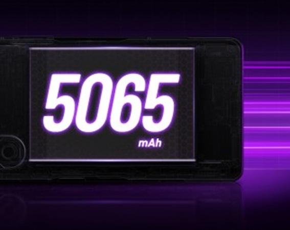 Kapasitas Baterai 5065 mAh redmi k40 gaming